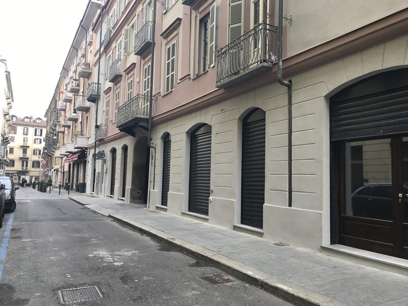vendita negozi torino centro via carlo alberto