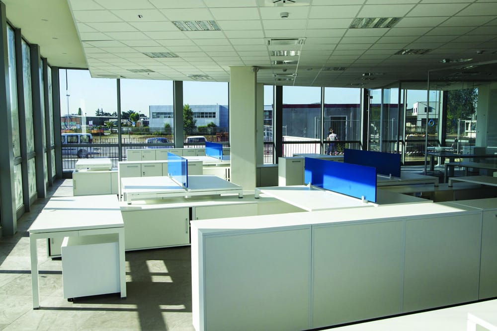 I nuovi interni degli uffici di corso cervi torchio for Corso di design di interni
