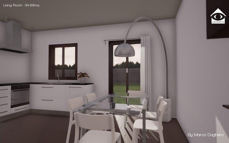 Vendita villette asti strada sesia villa torchio daghero for Appartamenti design