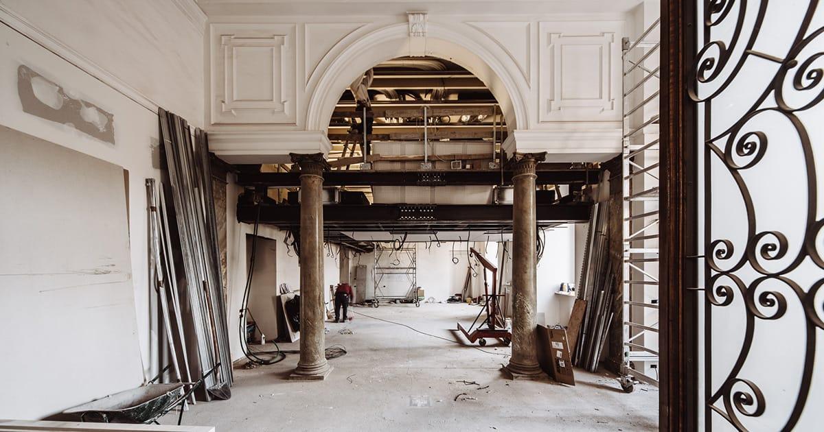 Ristrutturazione palazzo della luce torino torchio daghero for Palazzo villa torino