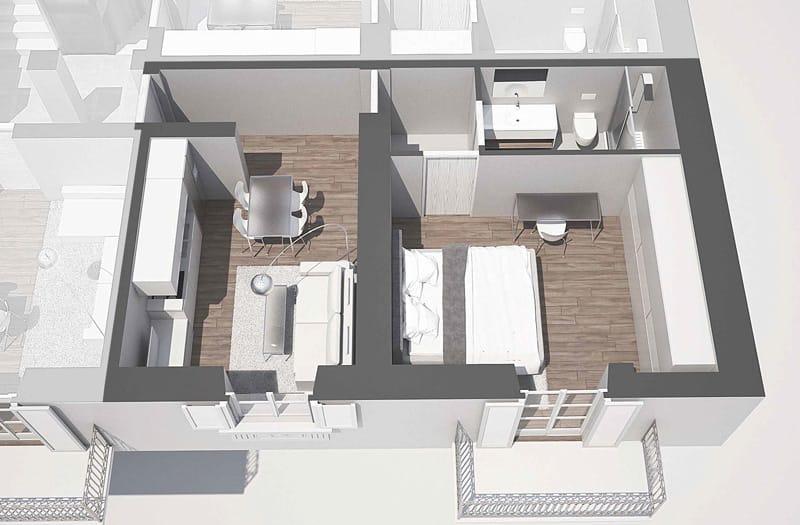 loft giardino con terrazzo corso brescia 42 torino