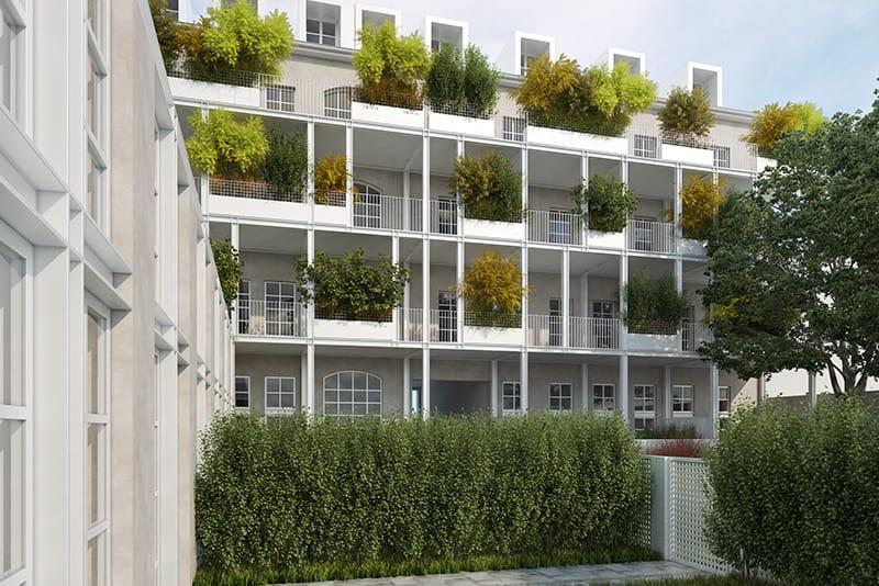 vendita appartamenti con giardino corso brescia 42 torino
